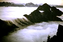 Mountains and clouds. Photo copyrighted. Courtesy Eden Communications.
